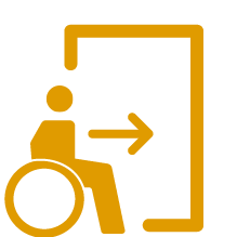 Accessible Entrance: Fair